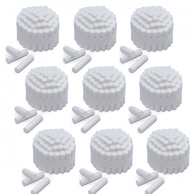 "Sky Choice Premium Dental Cotton Rolls Size #2 Medium Nonsterile, 3/8"" 2000/Case"
