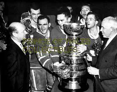 1962b TORONTO MAPLE LEAFS TEAM PHOTO 8X10