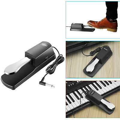 Universal Piano-style Sustain Foot Pedal with Polarity Switch Design ND#17