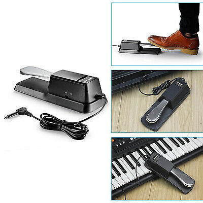 Neewer Universal Piano-style Sustain Foot Pedal with Polarity Switch UD#15
