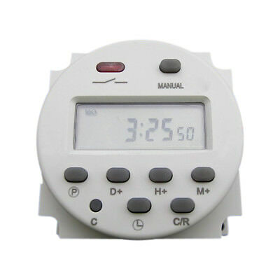 Brand DC 16A 12V Digital LCD Programmable Control Power Timer Switch time Relay