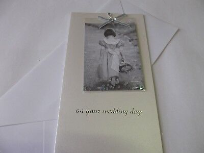 On Your Wedding Day.............Congratulations Greetings Card.