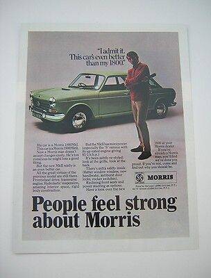 Austin 1800 MkII Advert from 1968 - Original - British Leyland