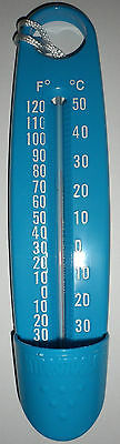 Swimming Pool Large Blue Scoop Water Thermometer  Vc-1025
