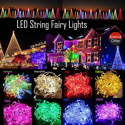 20/30/40 LEDs 2M/3M/4M Battery Operated Mini LED Copper Wire String Fairy Lights