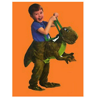 T-Rex Dinosaur Ride On Fancy Dress Party Costume Ages 3-7 Years