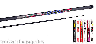 Carbo carbon 11 meter Fishing Pole + spare power top 2 + 6 pole rigs