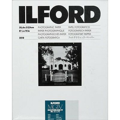 "Ilford Multigrade IV RC Black & White Paper 8.5x11"" Pearl 250 Sheets (1771440)"