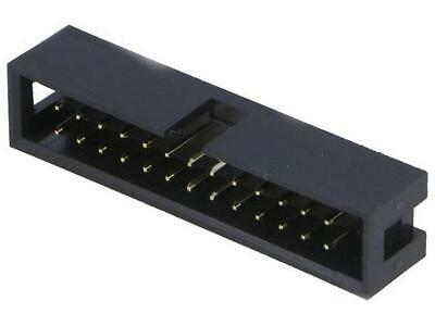 4x T821-1-26-S1 Socket IDC male PIN:26 straight THT gold plated 2./ UK STOCK