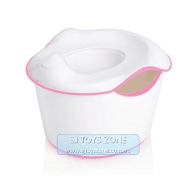 Ubbi 3 In 1 Potty Pink Kids Toilet Trainer Potty Step Stool