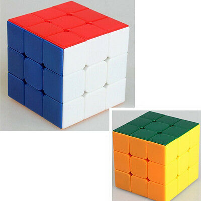 Multi-colour Smoothly Pro 3x3x3 Magic Cube 3x3 Speed Puzzle Twist Toys 1pcs