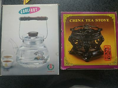 Hot/cool pot and Chinese tea stove