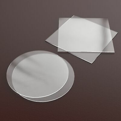 Square Round Acrylic Ganaching Plates Board Discs Cake Decorating Buttercream