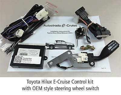 Autostrada Cruise Control Kit - Holden Rodeo / Colorado With 3.0 Tdi 2007-2012 E