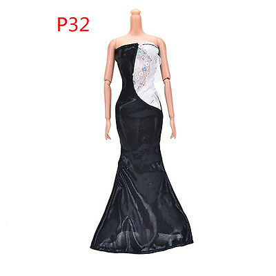 girls toy doll BARBIE prom ball wedding dress new party costume outfit set BC39