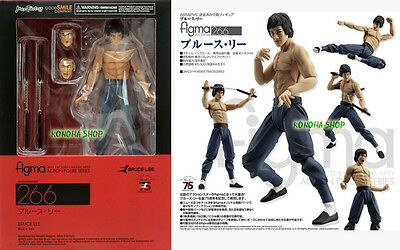 Max Factory FIGMA Bruce Lee Action Figure Good Smile Originale 100% Official