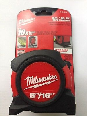 Milwaukee 48225616 Metric and Imperial 5m 16ft Contractor Tape Measure