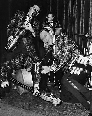 Rock & Roll Singer BILL HALEY & HIS COMETS Glossy 8x10 Photo Print Poster