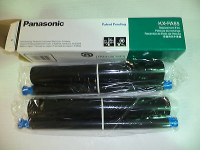 Genuine Panasonic Ink Film Kx-Fa55 2 Roll Box