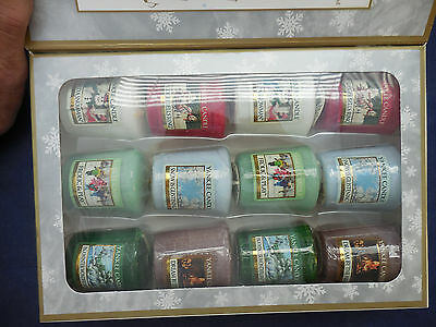 Yankee Candle 12 Pc. Sampler Set New In Box That Looks Like Book