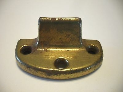 VINTAGE Brass Plated Steel Window Sash Lock (Keepers Only)  Screws Included