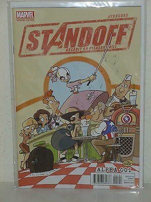 AVENGERS STANDOFF: ASSAULT on PLEASANT HILL #1 - Party Variant  GWENPOOL - Alpha