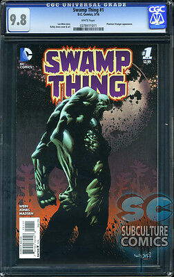 Swamp Thing #1 - Cgc 9.8 - Sold Out - First Print - Relaunch First Issue