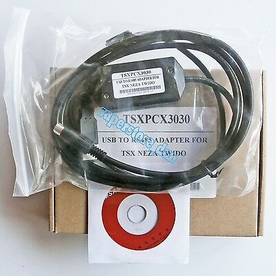 TSXPCX3030 Programming Cable USB to RS485 adapter for Schneider TWIDO/TSX PLC