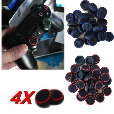 4PC Cap Cover for PS4 XBOX Analog 360 Controller Thumb Stick Grip Thumbstick