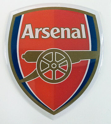 Arsenal Football Club 3D Sticker/ domed logo
