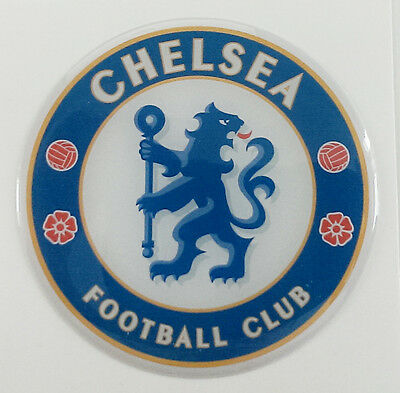 Chelsea Football Club 3D Sticker/ domed logo