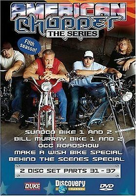 AMERICAN CHOPPER 5th  SEASON - 31 - 37 -  DVD SET - FREE POST IN UK