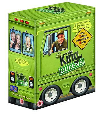 THE KING OF QUEENS 1-9 (1998-2007): COMPLETE TV Series Seasons NEW Eu DVD not US
