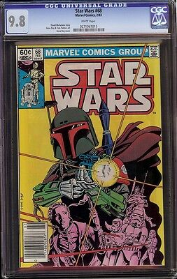 Star Wars # 68 CGC 9.8 White Reintroduction of Boba Fett, classic cover