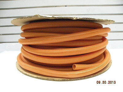 Orange Corrugated Split Wire Cover Tubing Automotive Outdoor Wiring Mopar Racing