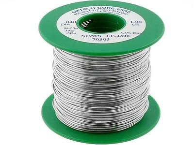 ASN96A3WS-1.00 Solder Sn96,5Ag3Cu0,5 wire 1mm 450g Flux Water Soluble AMTECH