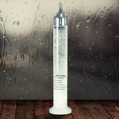 Fitzroy's Storm Glass 28cm   Weather Forecast meteorology detect fiztroy