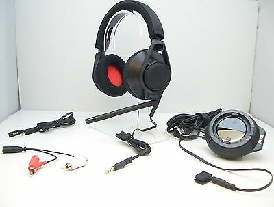 Plantronics RIG Black Gaming Headset with Mixer for Xbox 360 PS3 PS4 and PC/Mac