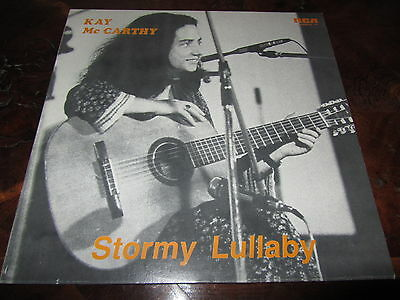 KAY MC CARTHY STORMY LULLABY Folk Psych Italy Only 1983 LP Stunning Unplayed