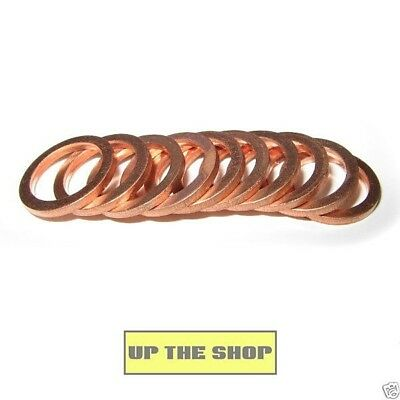 "10 copper crush washers 10mm and 3/8"" bolts, suit Venhill Goodridge Hel"