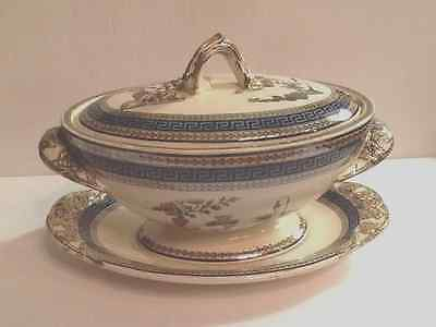 Antique large sauce tureen England copeland Spode