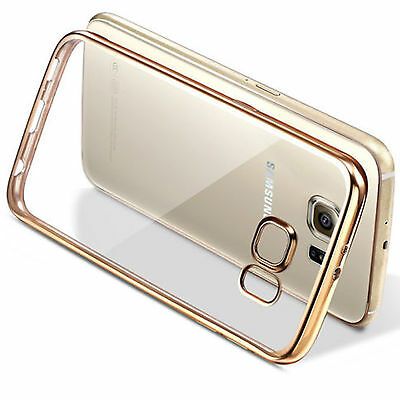 Luxury Bling Ultra-thin Clear Soft TPU Case Cover Skin For Samsung Galaxy Phone