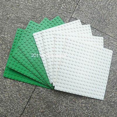 8pc Compatible for Lego display Brick figures building Base Plate 16x16 Dots