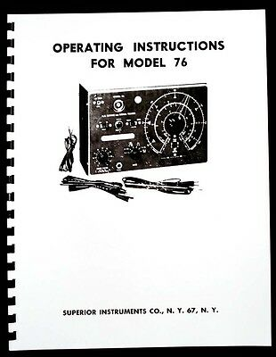 Superior Model 76 Tracer Manual