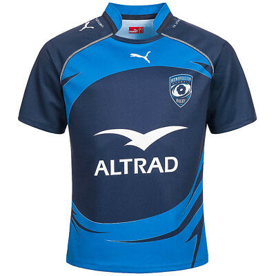 Montpellier Recorte Rugby PUMA Camiseta Local 933282-01 Home Jersey S - 3XL
