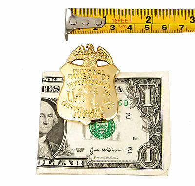 US Badge Money Clip Department Of Justice Badge Clip-US001