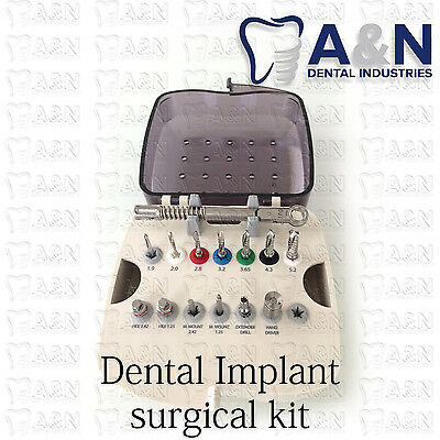 surgical kit for dental implants free- shipping