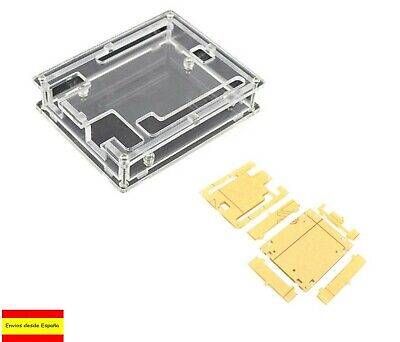 Caja Arduino Uno R3 Housing box potection carcasa acrílica transparente B0013