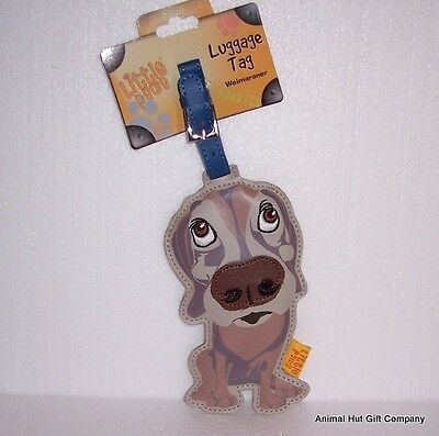 LITTLE PAWS Luggage Tag - Weimaraner