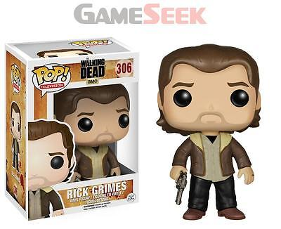 Funko Pop! Tv The Walking Dead - Rick Grimes Season 5 - Toys Brand New